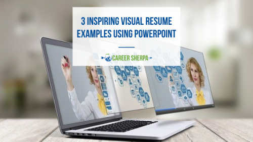visual resume examples using powerpoint