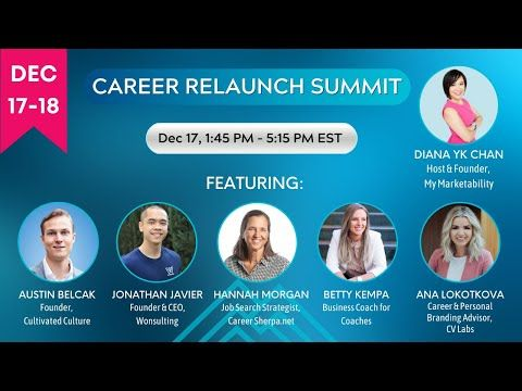 Career Relaunch Summit