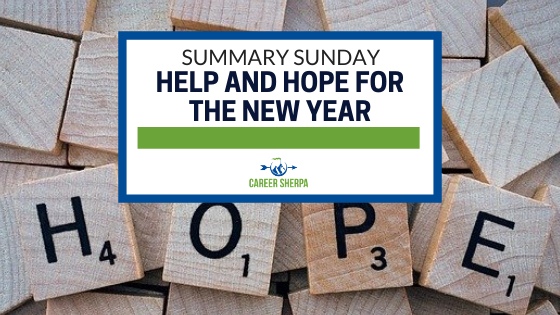Summary Sunday Help and Hope For The New Year