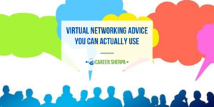 virtual networking advice