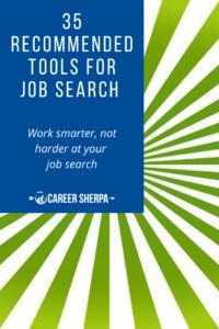 35 job search tools