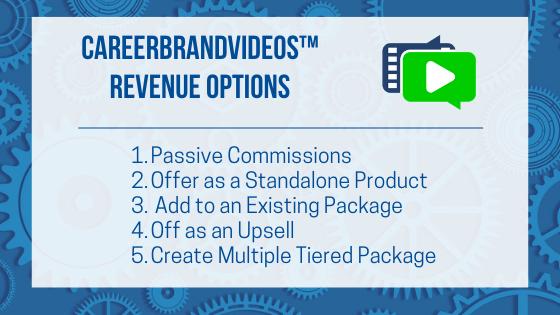 CBV Revenue Stream ideas