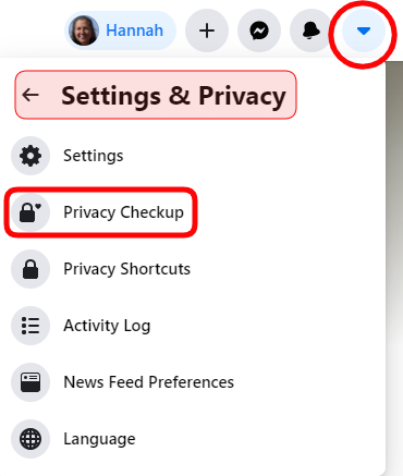 Facebook privacy settings 2021