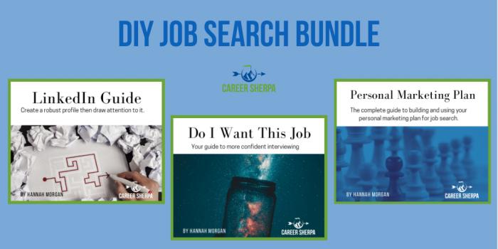 DIY Job Search Bundle