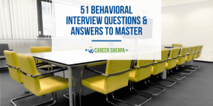 behavioral interview questions and answers to master