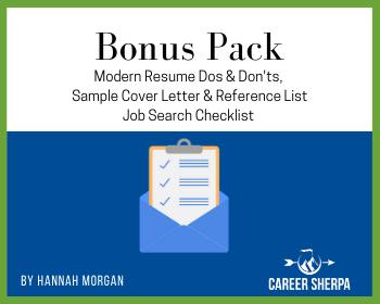 bonus pack careersherpa