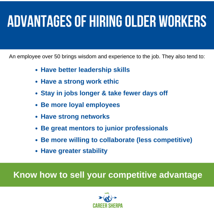 advantage of older workers