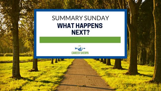 Summary Sunday What Happens Next