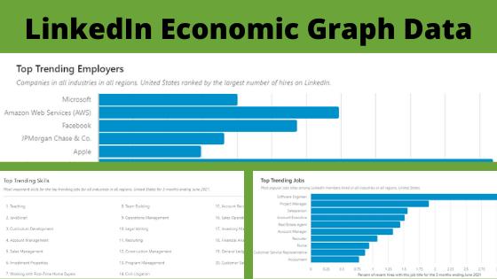 LinkedIn Economic Graph Data